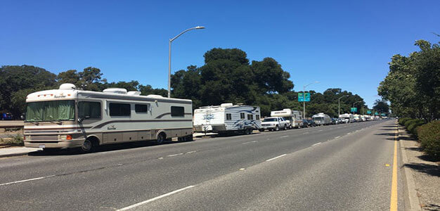 Low-Income Workers Who Live in RVs Are Being 'Chased Out' of Silicon Valley Streets…