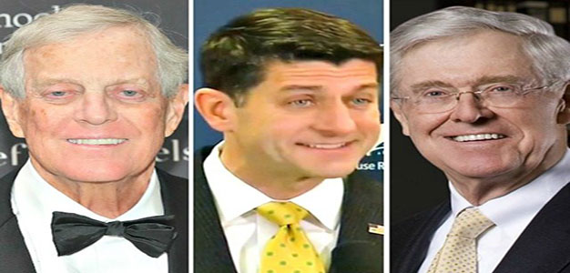 Paul Ryan's Globalist Legacy: Ignoring America's Working Class at the Behest of Billionaire Koch Brothers…