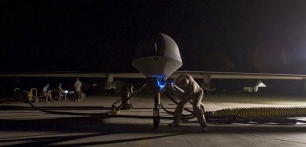 Pre Flight Inspection on MQ -1B Predator Drone