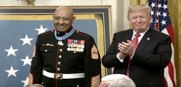 50 Years Later, Marine Gunny to Be Awarded the Medal of Honor for Hue City Heroics…