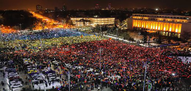 13th Day, Protesters Continue Calls for Romania's Government to Resign…