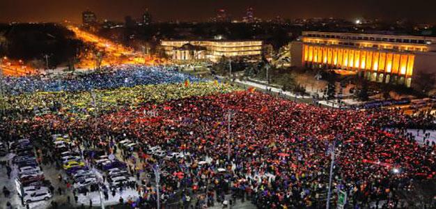 Romanians_Protest