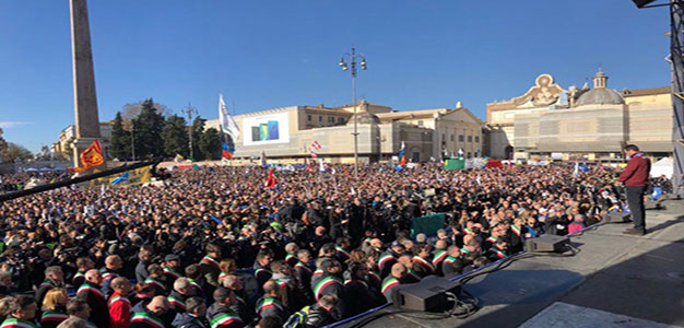 While Macron's Paris Is on Fire, Salvini's Rome Shines As He Puts Italians First… Imaging THAT!…