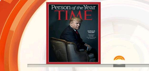 President-Elect Donald Trump Interviewed by Matt Lauer on Being Named Time's Person of the Year…