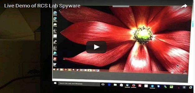 SCREENSHOT_RCS Lab_Hacking Video