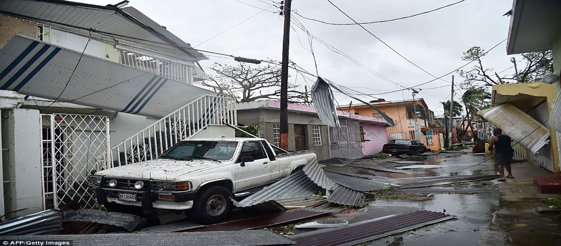 ONE HUNDRED PERCENT OF PUERTO RICO WITHOUT POWER…