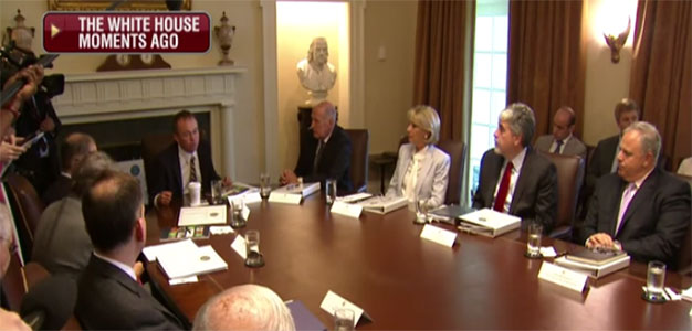 OMB Director Mick Mulvaney Discusses Government Reorganization During Cabinet Meeting (VIDEO)…