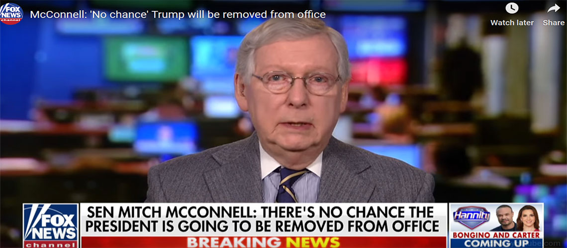 'THERE'S NO CHANCE THE PRESIDENT'S GOING TO BE REMOVED'…