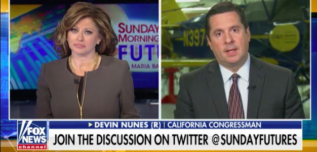 Devin Nunes 'there was no intelligence' Available to Launch FBI Counterintelligence Investigation into Trump Campaign…