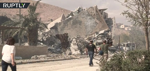 'No release of chemicals is best proof there were none' – Employee of Bombed Syrian Research Site…