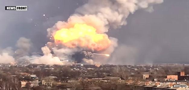 Ukraine's Primary Ammo Depot Explodes (VIDEO)…