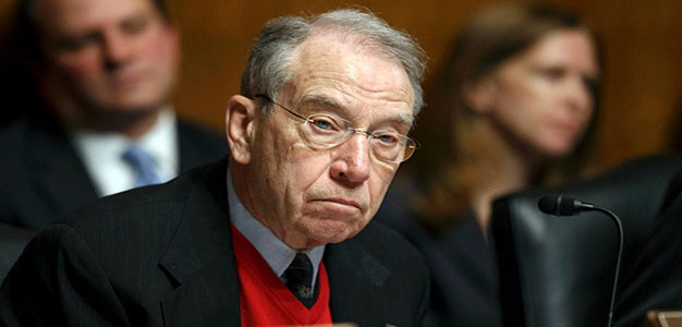 Grassley: Sessions Should 'Stay out of' Criminal Justice Debate After I Helped Him Keep His Job…Ouch!!!