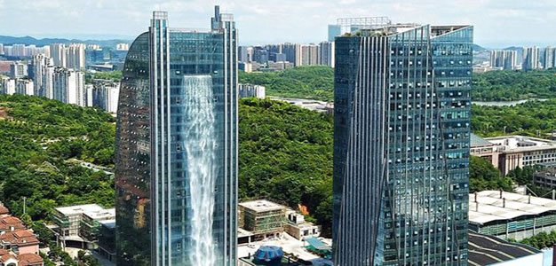What Does It Take to Put a Waterfall on a Skyscraper?…