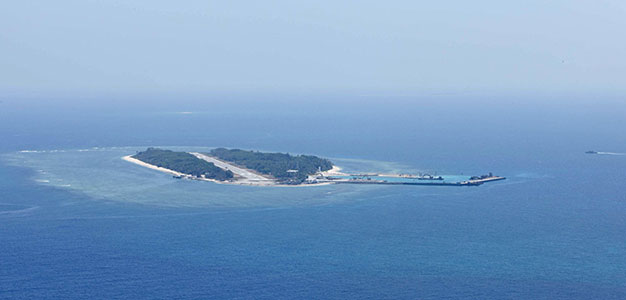 South China Sea Disputed Islands