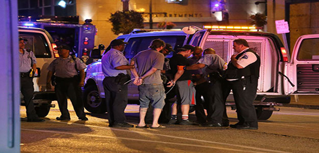 80 Arrested in St. Louis Protests Over Police Officer's Acquittal…