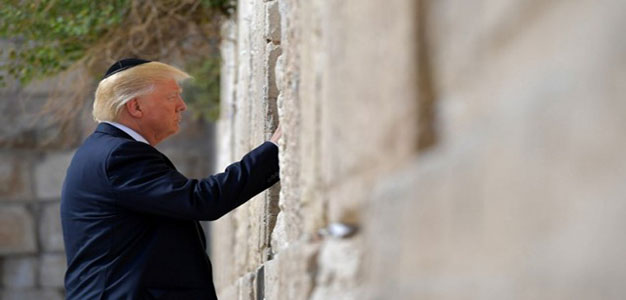 Trump Makes History as First Serving President to Visit Western Wall…