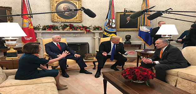 Trump Shines a Bright Light on Pelosi, Schumer Resistance to Fund Border Wall…