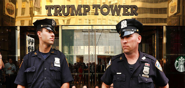 Here's How Many Bomb Threats Trump Tower Has Faced since Trump's Election…