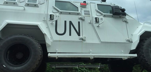 UN Vehicles Seen Virginia Interstate_June 2016