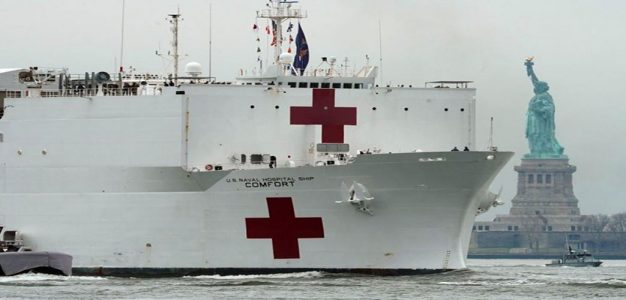 USNS-Comfort_NYC_GettyImages