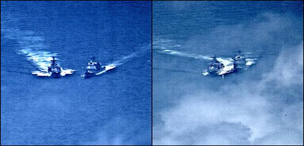 USS_Chancellorsville_Near_Collision
