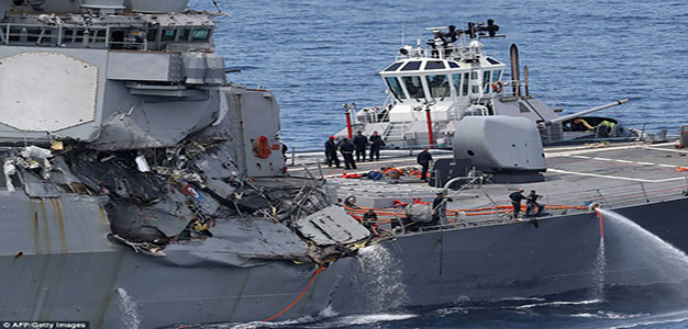Navy Relieves Two More Commanders in 7th Fleet After Deadly Collisions…