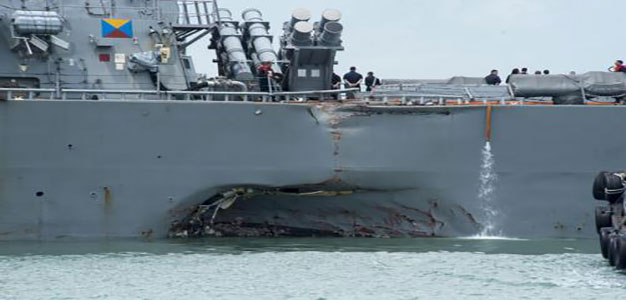 Navy Deploys Cyber Security Team to Investigate USS John McCain Collision…