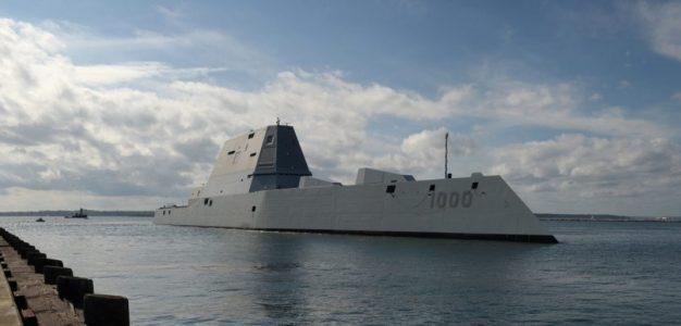 USS Zumwalt_U.S. Navy Guided Missile Destroyer