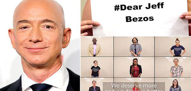 Hundreds of Washington Post Employees Slam Jeff Bezzos for 'Shocking Pay Practices'…