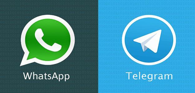 WhatsApp_telegram