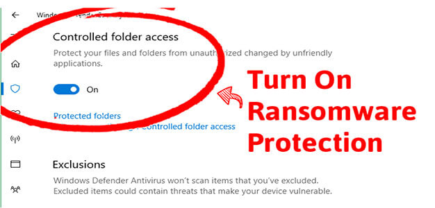 Windows 10 to Get Built-in Protection Against Most Ransomware Attacks…
