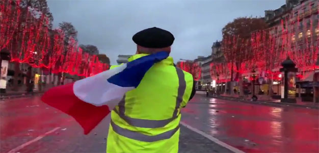 """The Gilets Jaunes have blown up the old political categories""…"