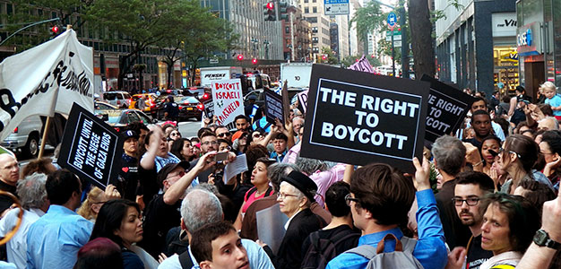 U.S. Lawmakers Seek to Criminally Outlaw Support for Boycott Campaign Against Israel…