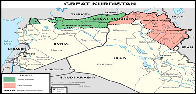 "Washington's Sponsored State of ""Great Kurdistan"" To Be Created in Syria And Iraq"