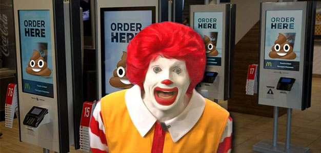 Not Lovin' It — Researchers Find Feces on Every McDonald's Touchscreen Tested…