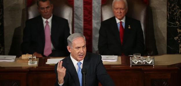 netanyahu speech clip video