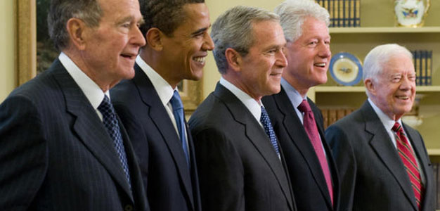All Five Living Presidents