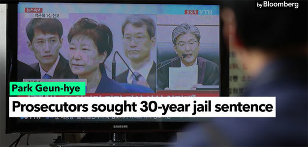 Former South Korea Leader Park Sentenced to 24 Years in Jail…