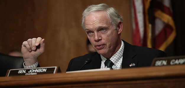 "Republican Senator Ron Johnson Tells President Trump ""it makes no sense to try and bring back high labor manufacturing jobs""…"