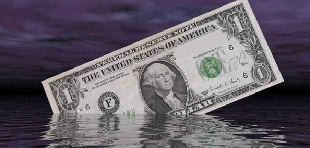 sinking-dollar
