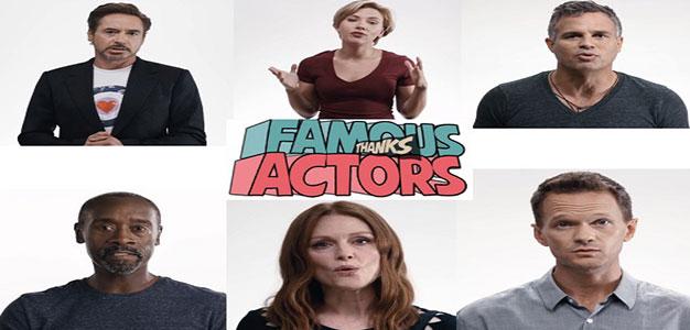 Thanks Famous Actors