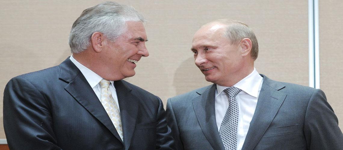 Yowza!: Trump Picks Exxon CEO Rex Tillerson as Secretary of State…