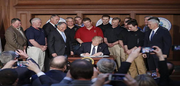 President Trump Signs an Energy Independence Executive Order (VIDEO)…