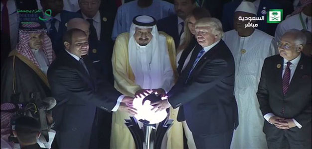 """The Orb: President Trump and King Salman Open """"Global Center for Combating Extremist Ideology"""" (Video)…"""
